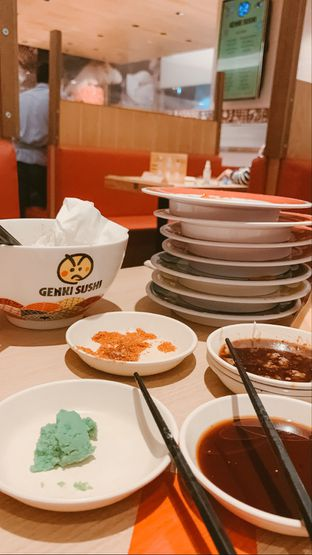 Foto review Genki Sushi oleh Ajeng Bungah Reskina 5