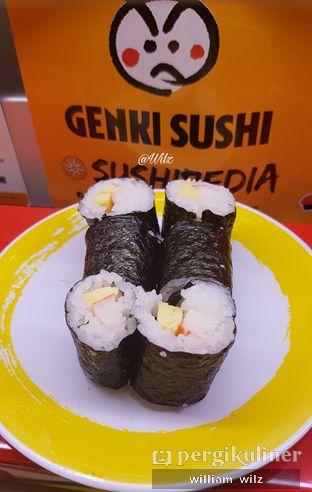 Foto 5 - Makanan di Genki Sushi oleh William Wilz