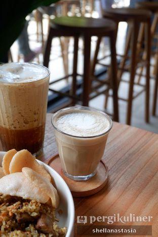 Foto 7 - Makanan(Hot Latte) di Bukan Ruang oleh Shella Anastasia