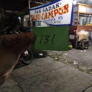 Foto review Pak Sadak Tahu Campur Lamongan oleh surabaya mangan 1