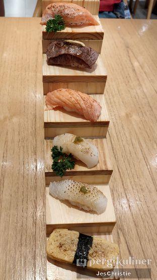 Foto 1 - Makanan(Hiro Aburi Sushi) di Sushi Hiro oleh JC Wen