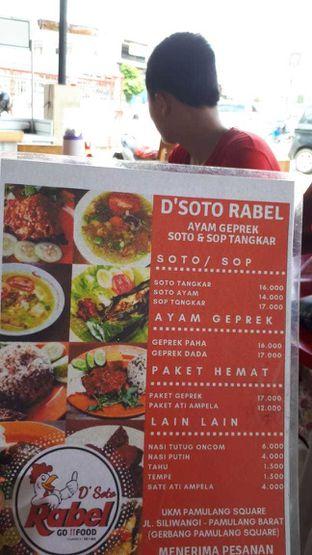 Foto 4 - Makanan di D'Soto Rabel oleh Muhammad Arfan