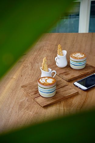 Foto 2 - Makanan(Hot Gingerbread Latte and Kimi Signature) di Kinokimi oleh Fadhlur Rohman
