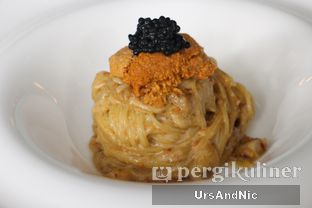 Foto 9 - Makanan(Capellini Con Erizos y Caviar / Uni Pasta ) di Atico by Javanegra oleh UrsAndNic