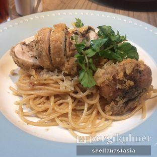 Foto 3 - Makanan(Garlic Butter Spaghetti) di Bakerzin oleh Shella Anastasia