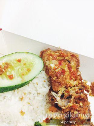 Foto 1 - Makanan(ayam geprek level 1) di Geprek Bensu oleh @supeririy