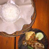 Foto Ayam Goang + Nasi di Ayam Goreng Nelongso