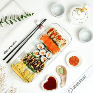 Foto 1 - Makanan di Genki Sushi oleh deasy foodie