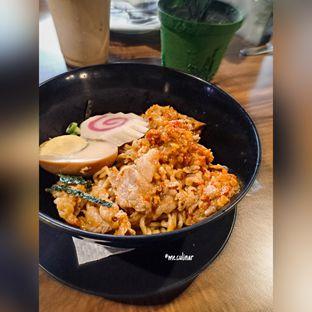 Foto 1 - Makanan(Ramen Belly Beef Spicy) di Eat Boss oleh Nika Fitria