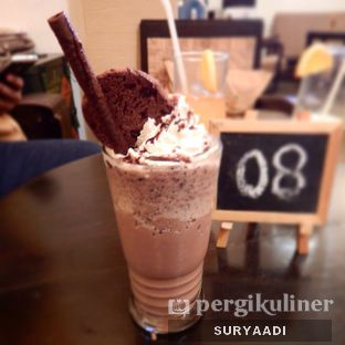Foto 5 - Makanan(Hazelnut Chocoshake) di Grand Father Coffee Shop oleh Surya Adi Prakoso