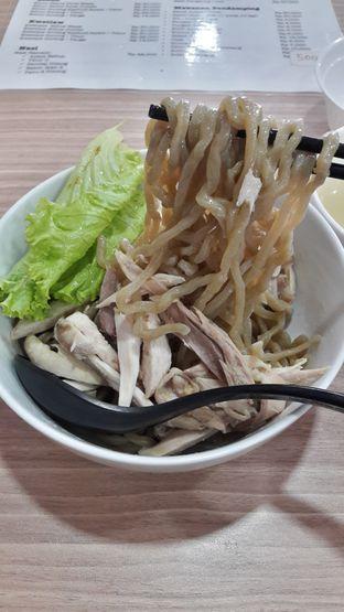 Foto 2 - Makanan di Bakmi Karet Bu Kur Ayam Kampung oleh Andri