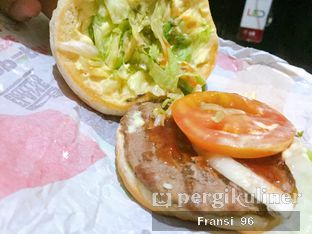 Foto review Burger King oleh Fransiscus  5