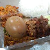 Foto Gudeg+telor+orek tempe di Ayam Goreng Ny. Suharti