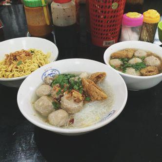 Foto Makanan di Bakso Pa'de Jangkung