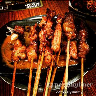 Foto - Makanan(Sate Ayam) di Sate Khas Senayan oleh Yummy Eats