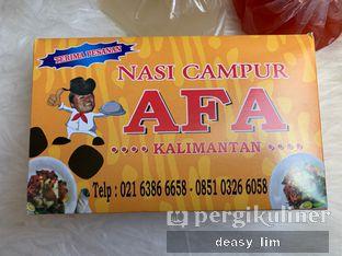 Foto 1 - Makanan di Nasi Campur AFA Kalimantan oleh Deasy Lim