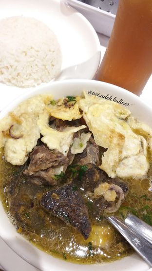 Foto 1 - Makanan(Sop daging iga + paru) di Chop Buntut Cak Yo oleh Jenny (@cici.adek.kuliner)