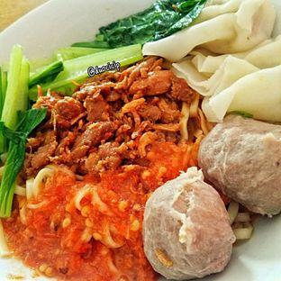 Foto 3 - Makanan(Mie Ayam Pedas 77) di Es Teler 77 oleh duocicip