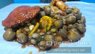 Foto 4 - Makanan(Mix perang kerang 5) di Perang Kerang - Barbarian Seafood House Restaurant oleh dinny mayangsari