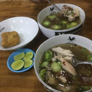 Foto - Makanan di Sop Ayam Kampung Pechok oleh Silvia Gan