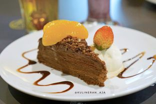 Foto 3 - Makanan(Mille Crepes) di Justus Steakhouse oleh @kulineran_aja
