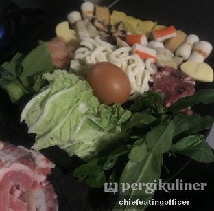 Foto 2 - Makanan(Special Steamboat) di PSY Steamboat Yakiniku oleh Cubi