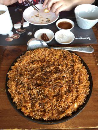 Foto 4 - Makanan(Chadol Kimchi bokkeum bap) di Samwon Garden oleh Patricia.sari
