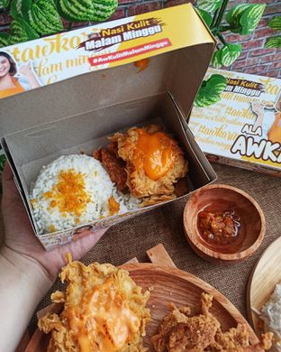 Foto 3 - Makanan di Nasi Kulit Malam Minggu oleh Junior