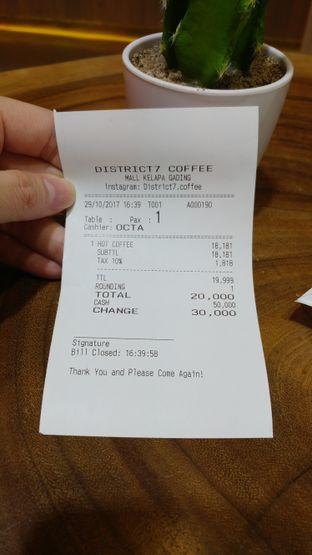 Foto 3 - Menu di District 7 Coffee oleh Windy  Anastasia