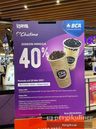 Foto review Chatime oleh Tiny HSW. IG : @tinyfoodjournal 3