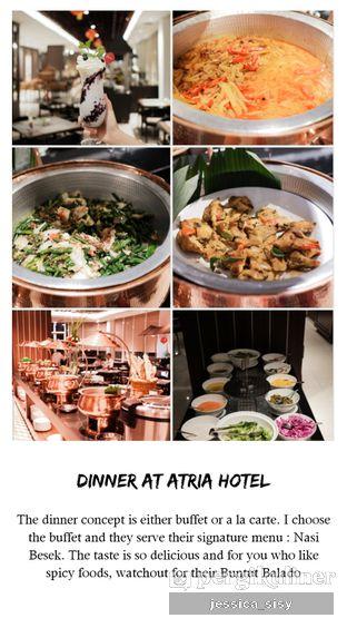 Foto review The Mezzanine Restaurant - Atria Hotel oleh Jessica Sisy 1