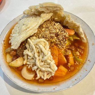 Foto Makanan di Asinan Sedap Gedung Dalam