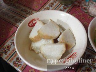 Foto 3 - Makanan(lontong ) di Bakso Kikil Sapi Asli Manunggal Cak Mat oleh @Ecen28