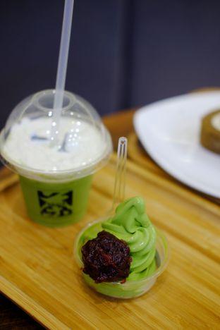 Foto 1 - Makanan(Mini Soft Ice Cream with Red Bean Anko) di Tsujiri oleh Cindy Y
