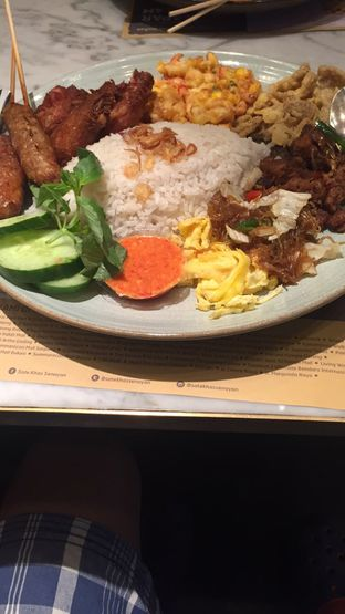 Foto 2 - Makanan(Nasi Uduk) di Sate Khas Senayan oleh Jason Wijaya