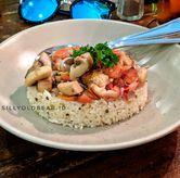 Foto Mushroom Dabu Dabu Rice with Breaded Chicken di Toodz House