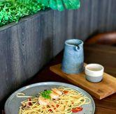 Foto Spaghetti Aglio Olio di Say Something Coffee