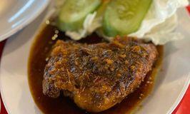 Ayam Bakar Taliwang Ireng Manis