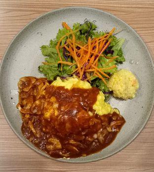 Foto 1 - Makanan(Lumberjack Style Demiglace Sauce Omurice) di Kamakura Japanese Cafe oleh maysfood journal.blogspot.com Maygreen