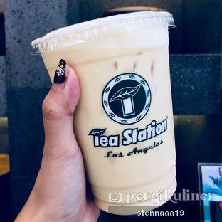 Foto 2 - Makanan(Osmanthus Oolong Milk Tea) di Tea Station oleh Sienna Paramitha