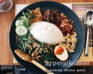 Foto 1 - Makanan(nasi bali dan empal) di Sate Khas Senayan oleh Melody Utomo Putri