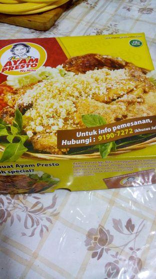 Foto 1 - Makanan di Ayam Presto Ny. Nita oleh Adrian Prathama
