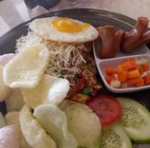 Foto temple fried rice di Giggle Box