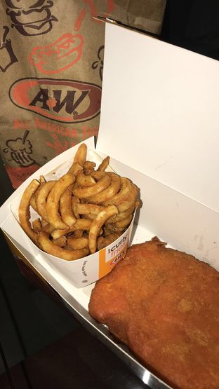 Foto review A&W oleh Jennifer Intan 1