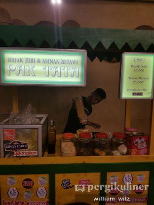 Foto review Rujak Juhi & Asinan Betawi Pak Tata oleh William Wilz 3