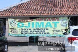 Foto 1 - Eksterior di Soto Betawi Djimat oleh Kevin Leonardi @makancengli