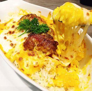 Foto 1 - Makanan(Chicken Chop Pumpkin Baked Rice) di Hong Kong Cafe oleh Magdalena Fridawati
