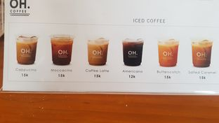 Foto 5 - Menu di OH Coffee oleh Widya WeDe ||My Youtube: widya wede