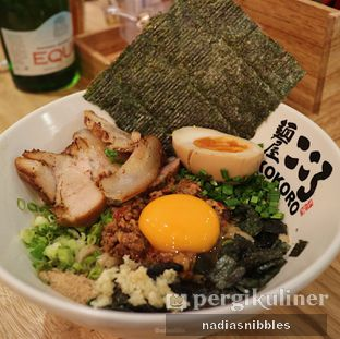 Foto review Kokoro Tokyo Mazesoba oleh Nadia Felita Sari 1