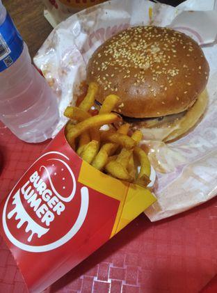Foto review Burger Lumer oleh yuandika putri  5